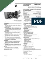 Motores Industriales Diesel Cat c9 Acert