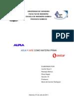 Agua y Aire como MP (1-2011)