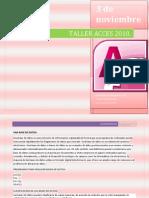 Taller Acces 2010