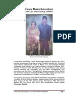Enang Daeng Sumanjang - The Last Tomakaka of Mambie
