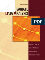 25213166 Multivariate Data Analysis 7th Edition
