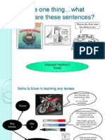 Present Perfect Notes - JJ 2013