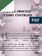 Cap 5 El Proceso (5.2.1. El Proceso Como Contrato)