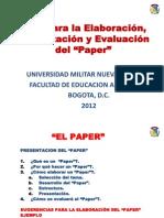 Guia Del Paper 2012