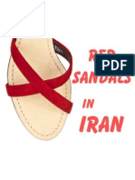 Red Sandals in Iran