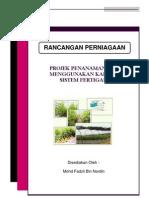 Contoh Kertas Kerja - Rancangan Perniagaan Projek Tanaman Cili Secara Fertgasi