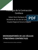 Fisiología de la Contracción Cardiaca