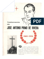 Testamento de José Antonio Primo de Rivera