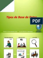 Tipos y Modelos de Base de Datos - Cerna Cochachin Cesar