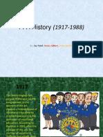 FFA History (1917-1988)