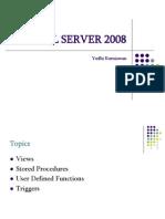 SQL Server 2008 Trainning