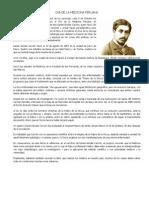 Dia de La Medicina Peruana