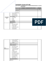 Business Plan Report Outline