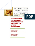Information Technology Strategy for an Assisted Living Developer - Robert Paul Ellentuck