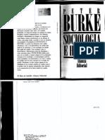Peter Burke Sociología e Historia