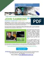 Caribbean Conference on Business Forensics 2013 Bio John Sammons