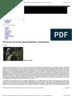 El retrato de un don Juan decadente y modernistaVALLE-INCLÁN