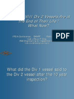 ASME VIII Div 2 Vessels-End of Life