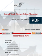 Brand Track Report - Online Shopping June -Sep 2008