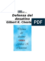 Chesterton, Gilbert - Defensa Del Desatino
