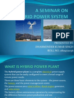 Hybrid Power System Ppt