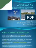 Hybrid Power System Ppt