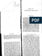 """. Burckhardt, La cultura del Renacimiento en Italia, México, F. C. E., (primera parte, """"El Estado como obra de arte)"""