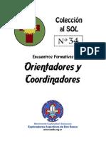 CAS 34 - Encuentros Formativos Orientadores y Coordinadores