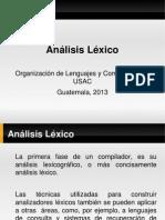 Análisis Lexico