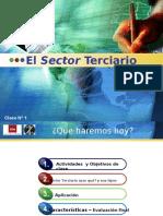 El Sector Terciario Clase 1
