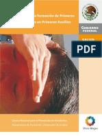 Manual Para La Formación de Primeros Respondientes en Primeros Auxilios