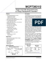 MCP73831T IC DATASHEET