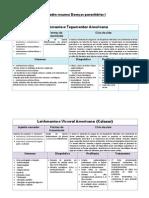 Quadro resumo Doenças parasitárias 1