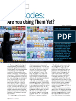 QR codes and their uses in retailing
