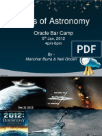 Astro Basics Bar Camp