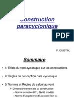 Construction Paracyclonique-colloque Du 15mai07