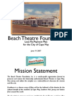 BTF Loan Presentation to Cape May City Council