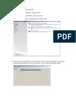 Installation of SQL SERVER 2008 R2