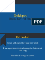 Goldspot Pitch