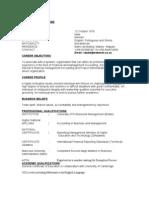 CV for Zicai Dube-1