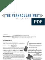 The Vernacular Writ