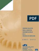 Convenio Provincia Barcelona Siderometalurgico