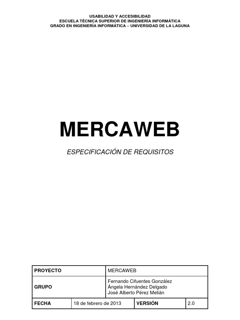 Asombroso Plantilla De Requisitos Ieee Adorno - Colección De ...