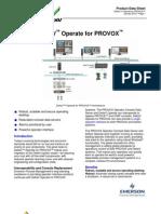 PDS DeltaV Operate PVX