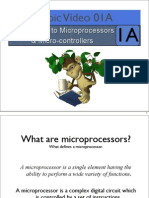 Topic01A Introduction to Microprocessors and Micro Controller Part 1