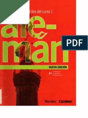 Euroaleman 1 Libro Del Curso Morfología Lingüística