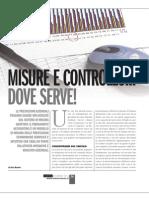 Misure e controllo.. dove serve! - Articolo di Sara Baroni su Lamiera, Nov 2012