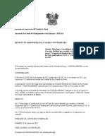 RESOLUÇÃO ADMINISTRATIVA Nº 012013 CONCIDADES RN CONSTITUI COMISSÃO PREPARATORIA  5ª CONFERENCIA  DAS CIDADE E ANEXO DO REGIMENTO