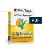Advanced Archive Recovery Software
