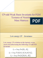 CP odd weak basis invariants